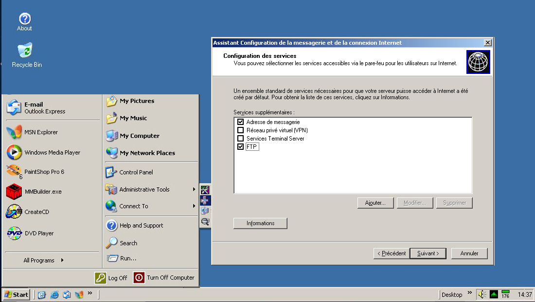 connexion rapide aux reseaux avec windows 7 pro