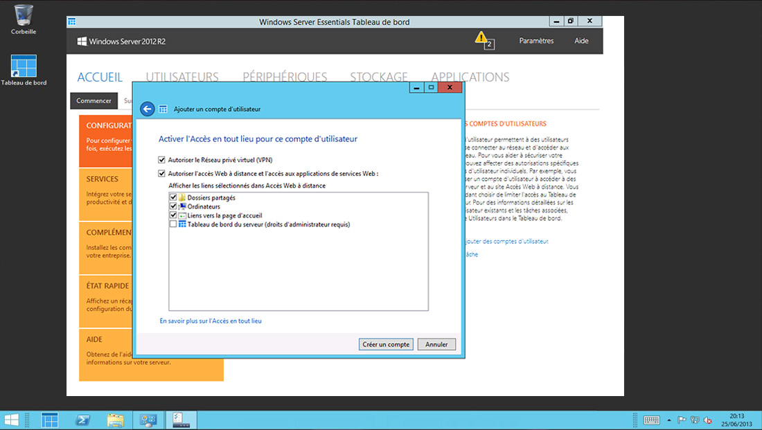 Télécharger Windows Server 2012 Essentials