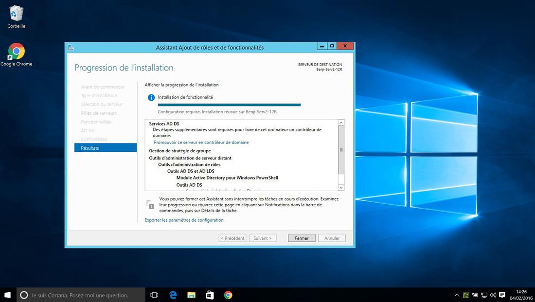 Windows Server 2012 RDS – pour les utilisateurs