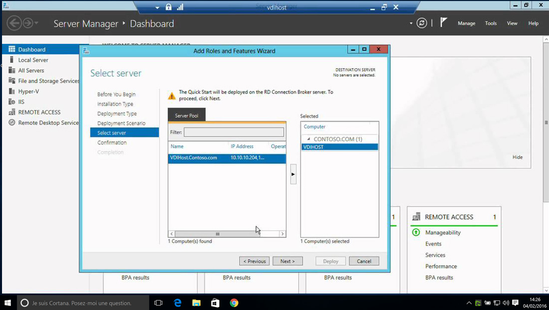 Gestion de messagerie avec Exchange Server 2016 Standard