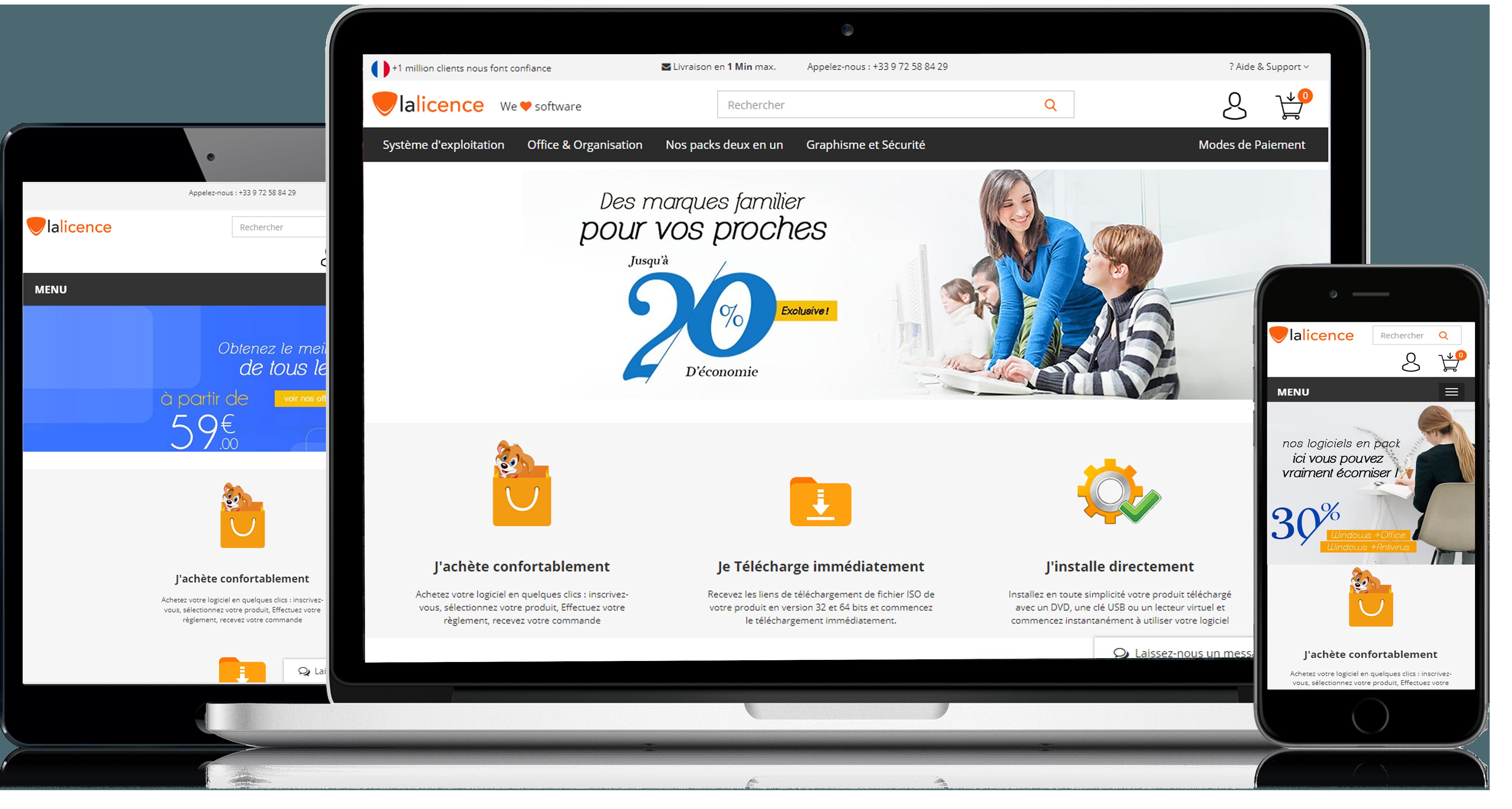 Télécharger windows et office pour Mac avec lalicence.fr